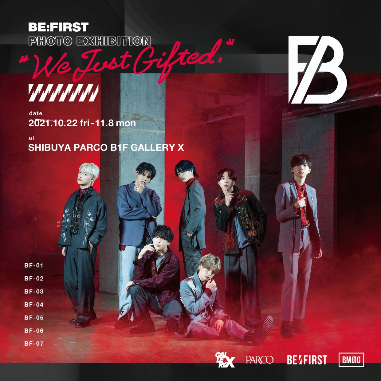 BE:FIRST PHOTO EXHIBITION