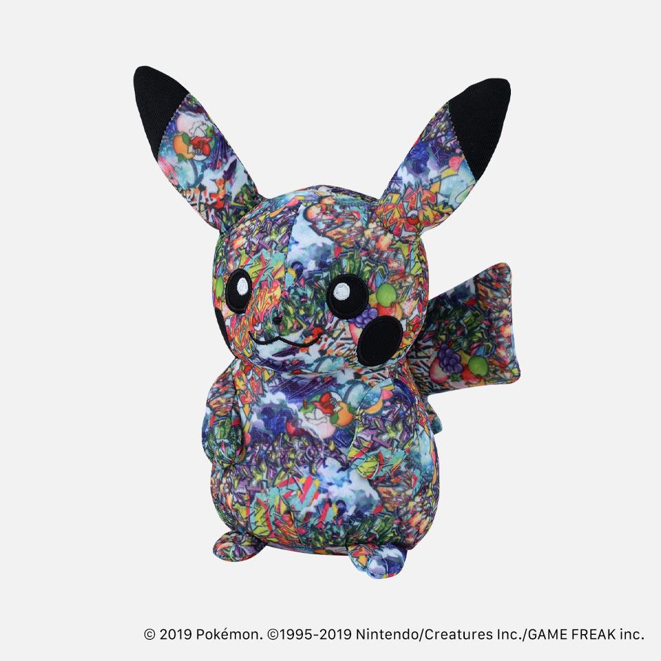 ぬいぐるみ Pokémon Center SHIBUYA Graffiti Art ピカチュウグラフィティ総柄