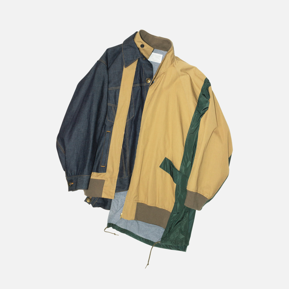 Three Pieces Docking Blouson
