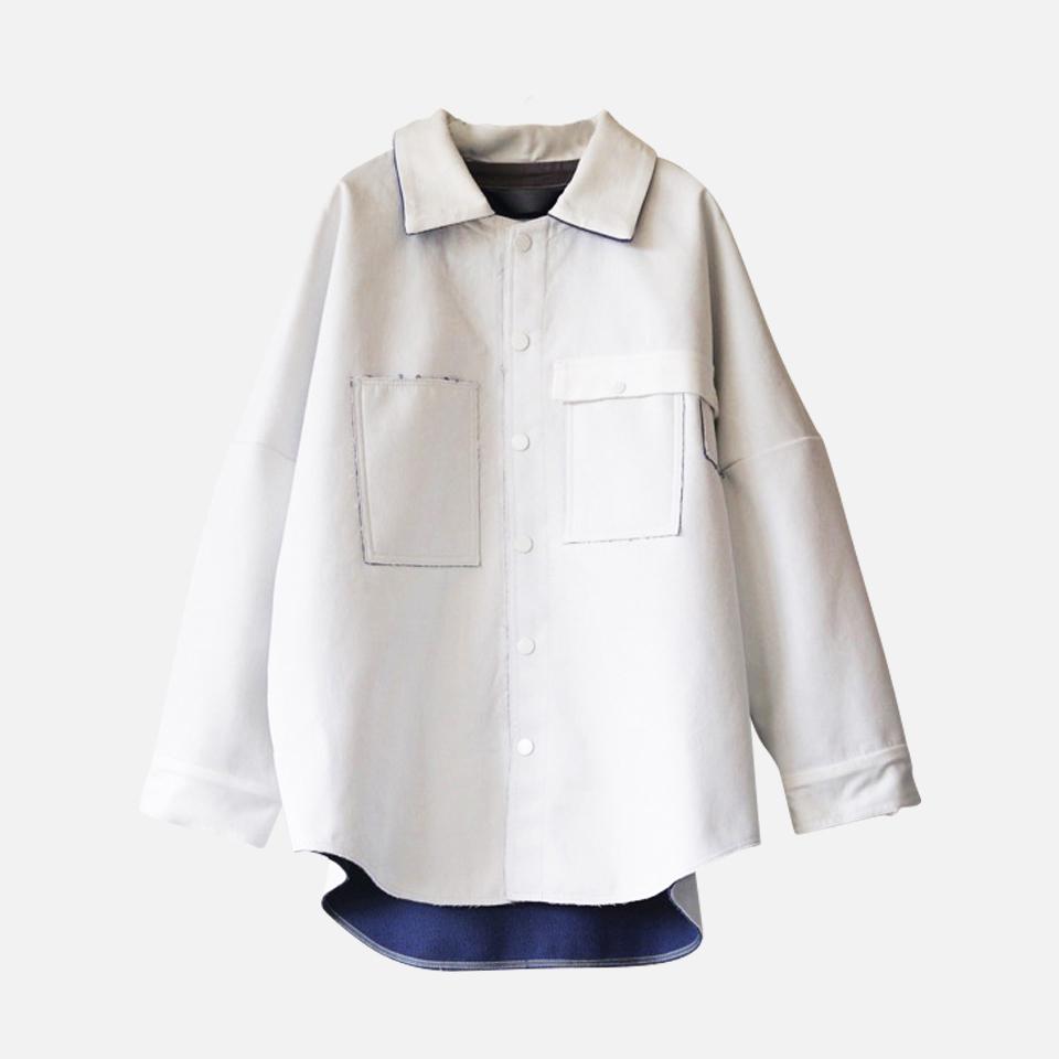 ボンディングシャツコート