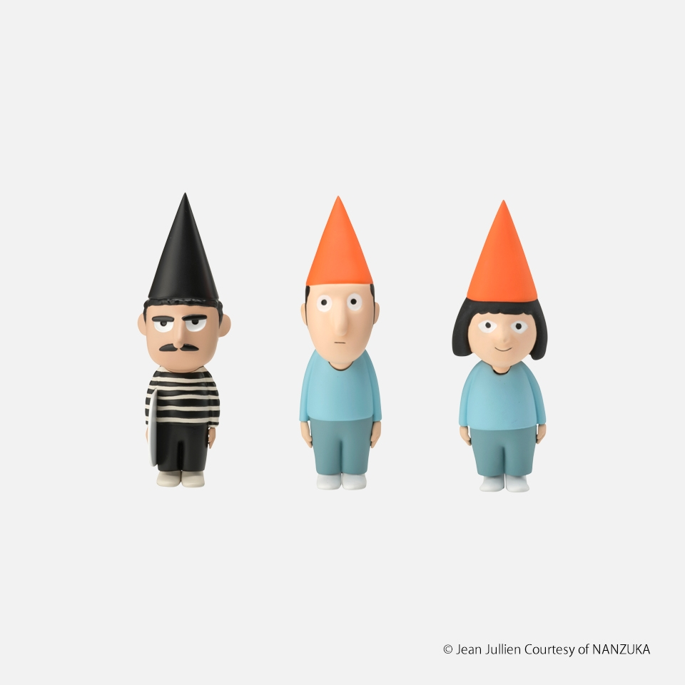 Jean Jullien POCKET PARENTS VIVI, NINO and TIBO(a set of 3 pieces)