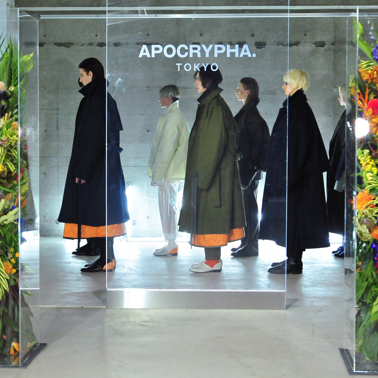 APOCRYPHA. POP UP STORE