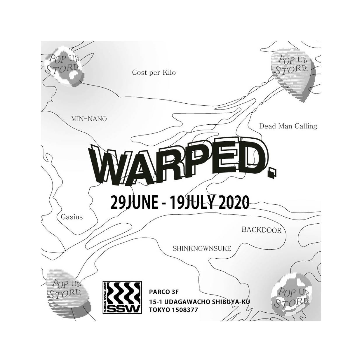 WARPED. POP-UP