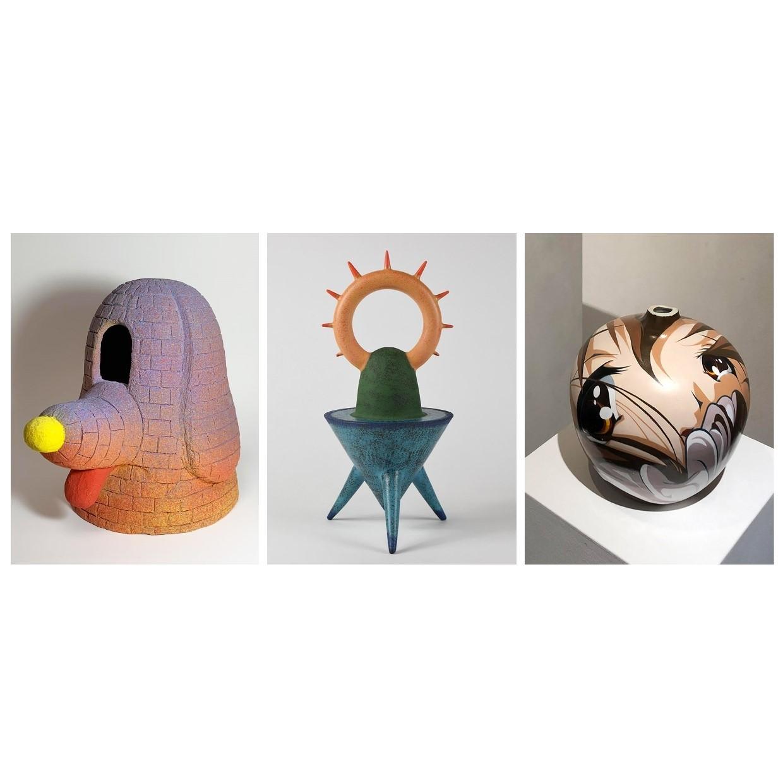 """宫下satoshi,酒井智也,别致的utarou""""假定代陶器艺术Virtual generation pottery""""展"""