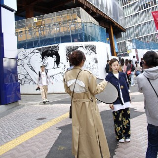 """Fixed-point observation @ Shibuya by """"ACROSS"""""""