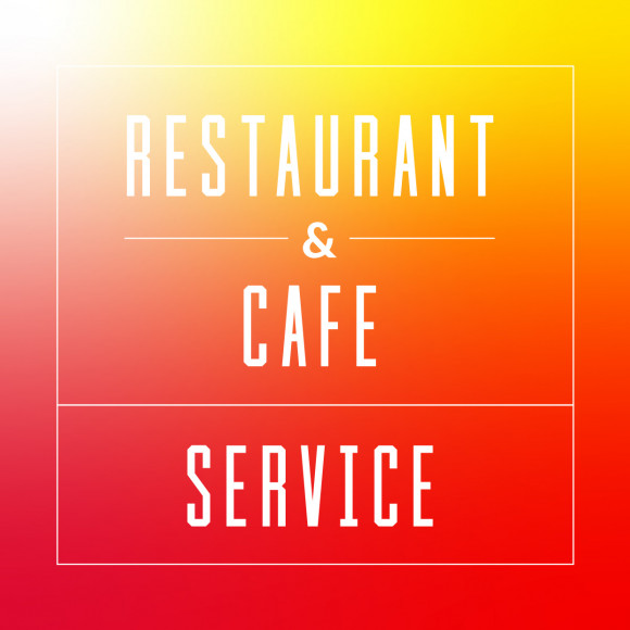 饮食店用专业商店剧场&电影票出示提供服务