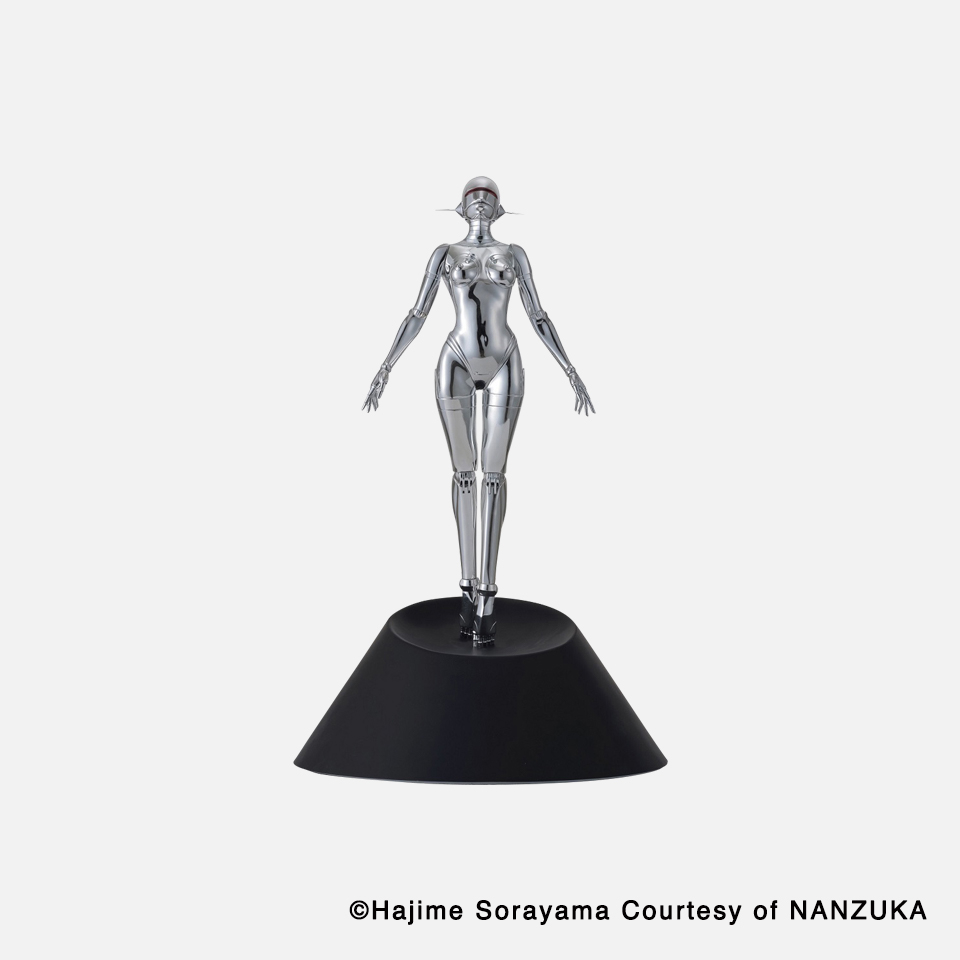 Sexy Robot floating _1/4 scale