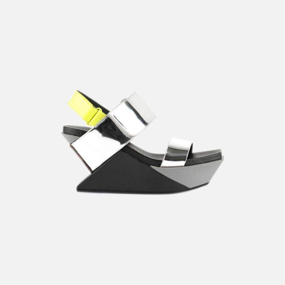 Delta Wedge Sandal