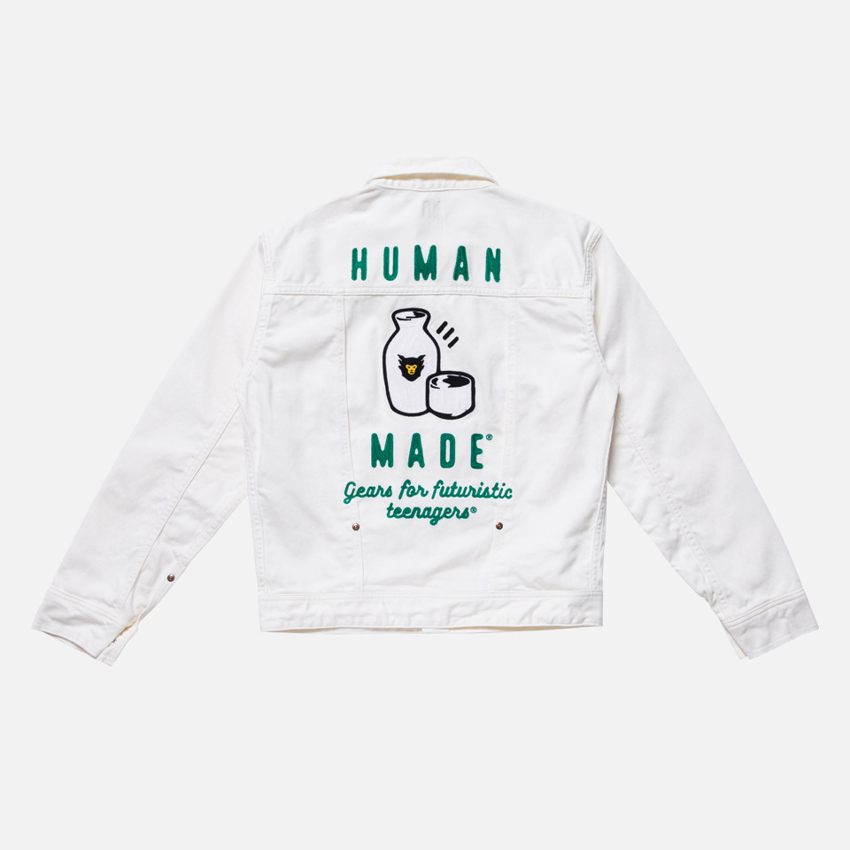 HUMAN MADE® PIQUE WORK JACKET