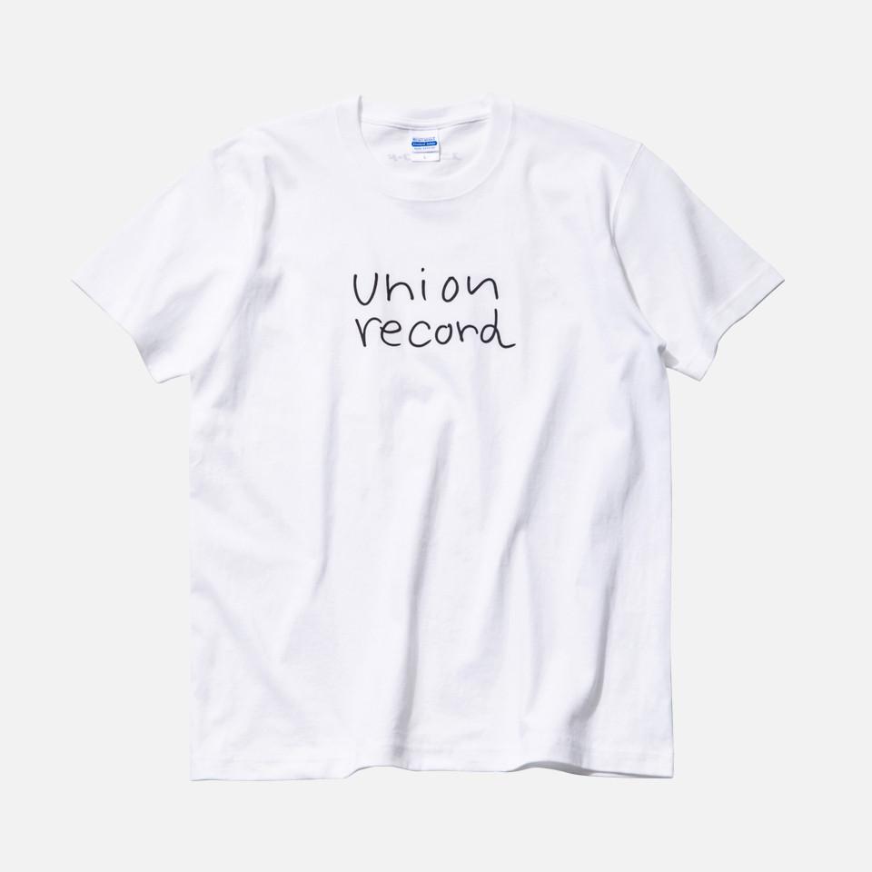 KEN KAGAMI x union record コラボTシャツ