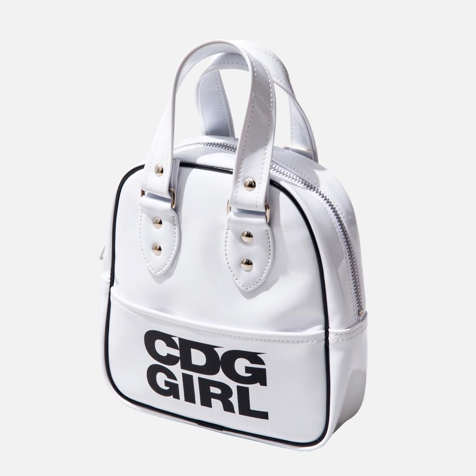 × CDG エアラインバッグ  フェイクレザーエナメル