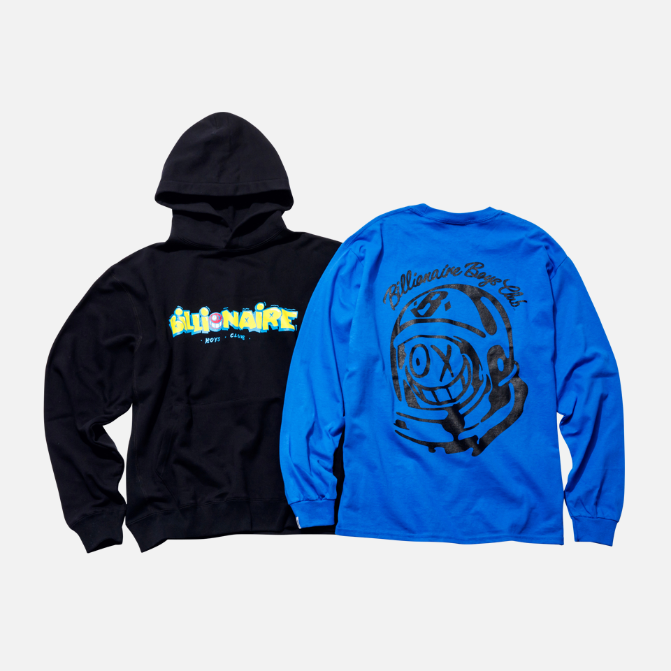 BILLIONAIRE BOYS CLUB × ANDRE SARAIVA CAPSULE COLLECTION