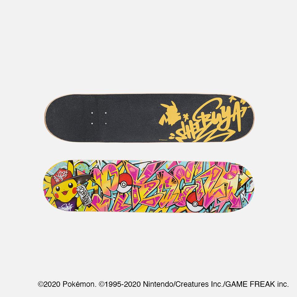 スケートボードデッキ Pokémon Center SHIBUYA Graffiti Art