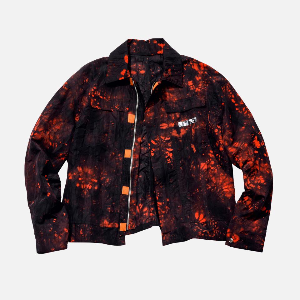 dyed nylon jacket