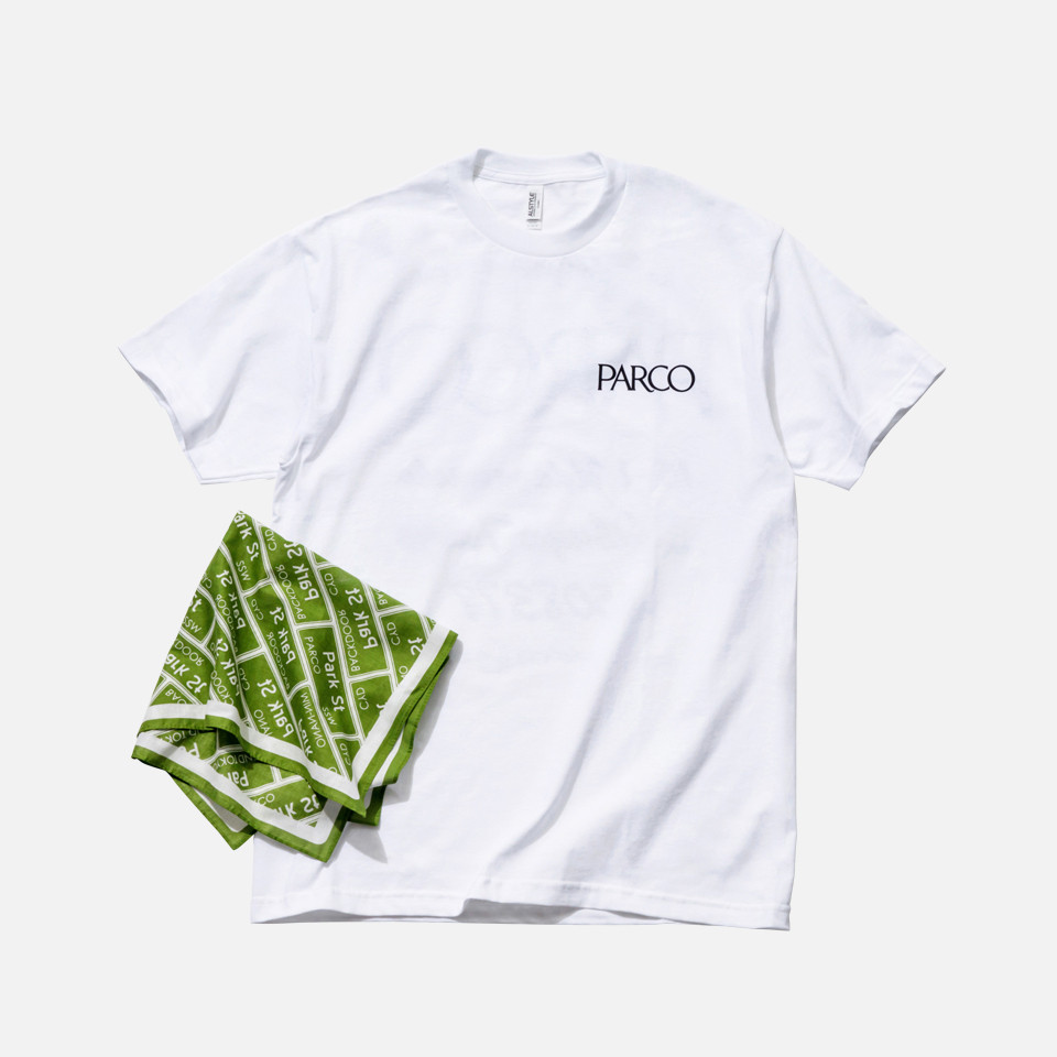 PARCO代表お土産T & PARCO SBQ BANDANA