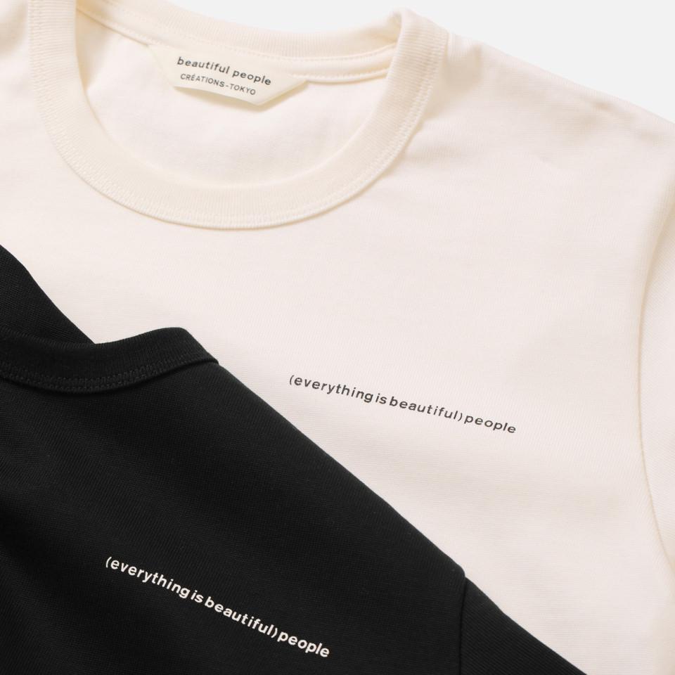 ブランドボイススビンピマTシャツ