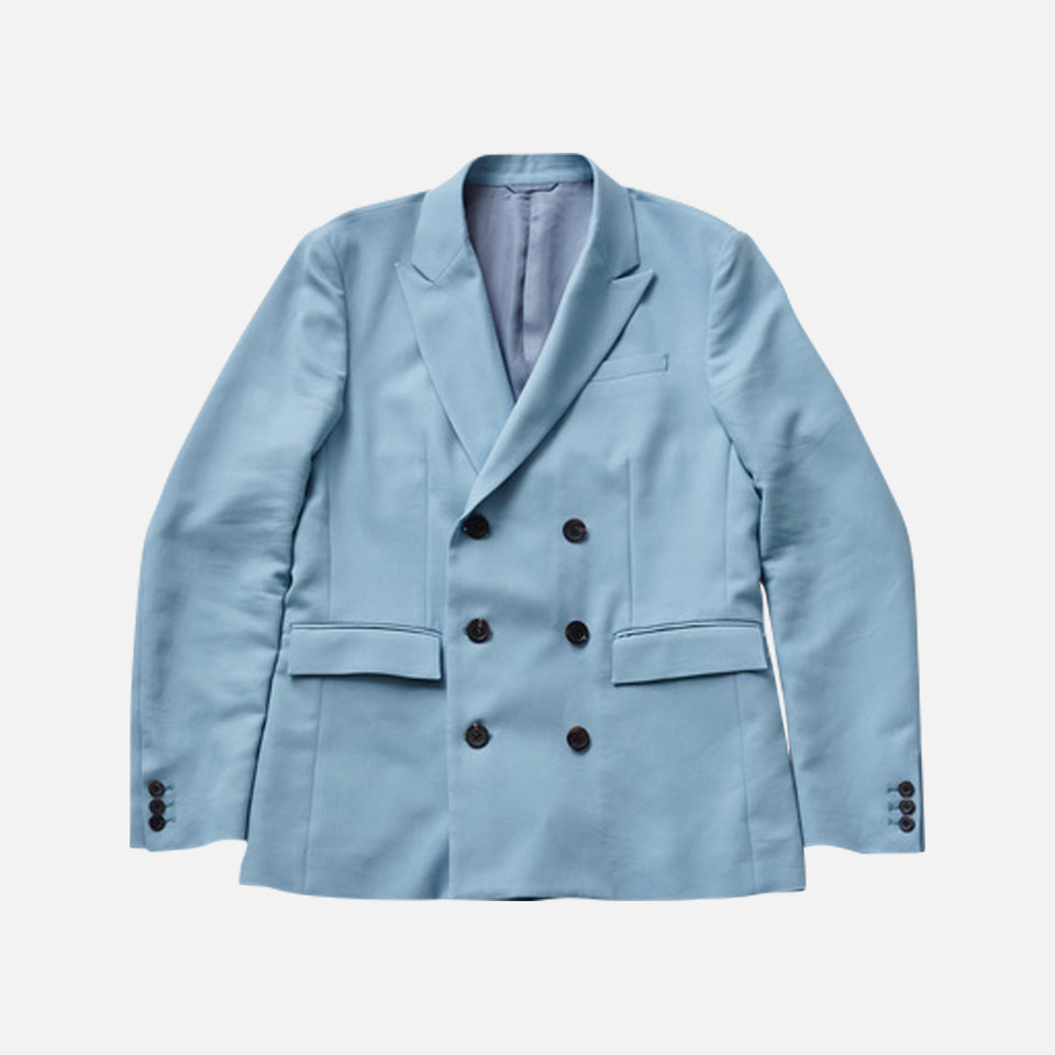 W Peaked Lapel Jacket For BEST PACKING STORE