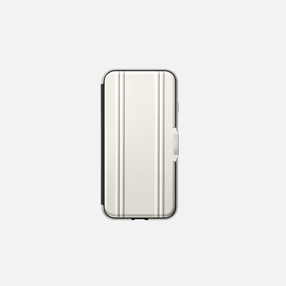 ZERO HALLIBURTON Hybrid Shockproof Flip Case for iPhoneSE(第2世代)
