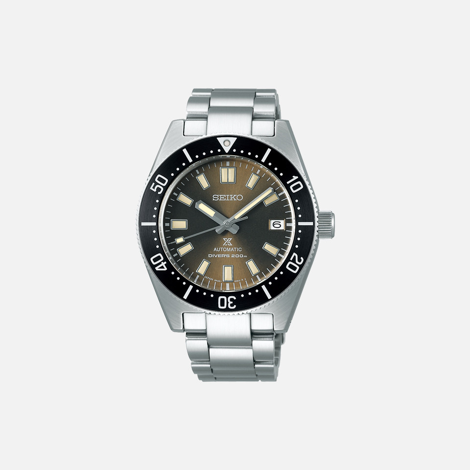 Model for exclusive use of 1965 SEIKO Pross pecks mechanical divers modern design Seiko Boutique