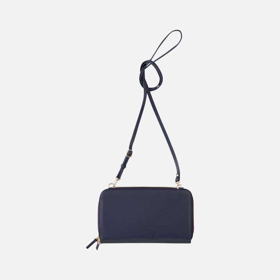 Wallet pouch & multi-bag of CACUMA cherry print
