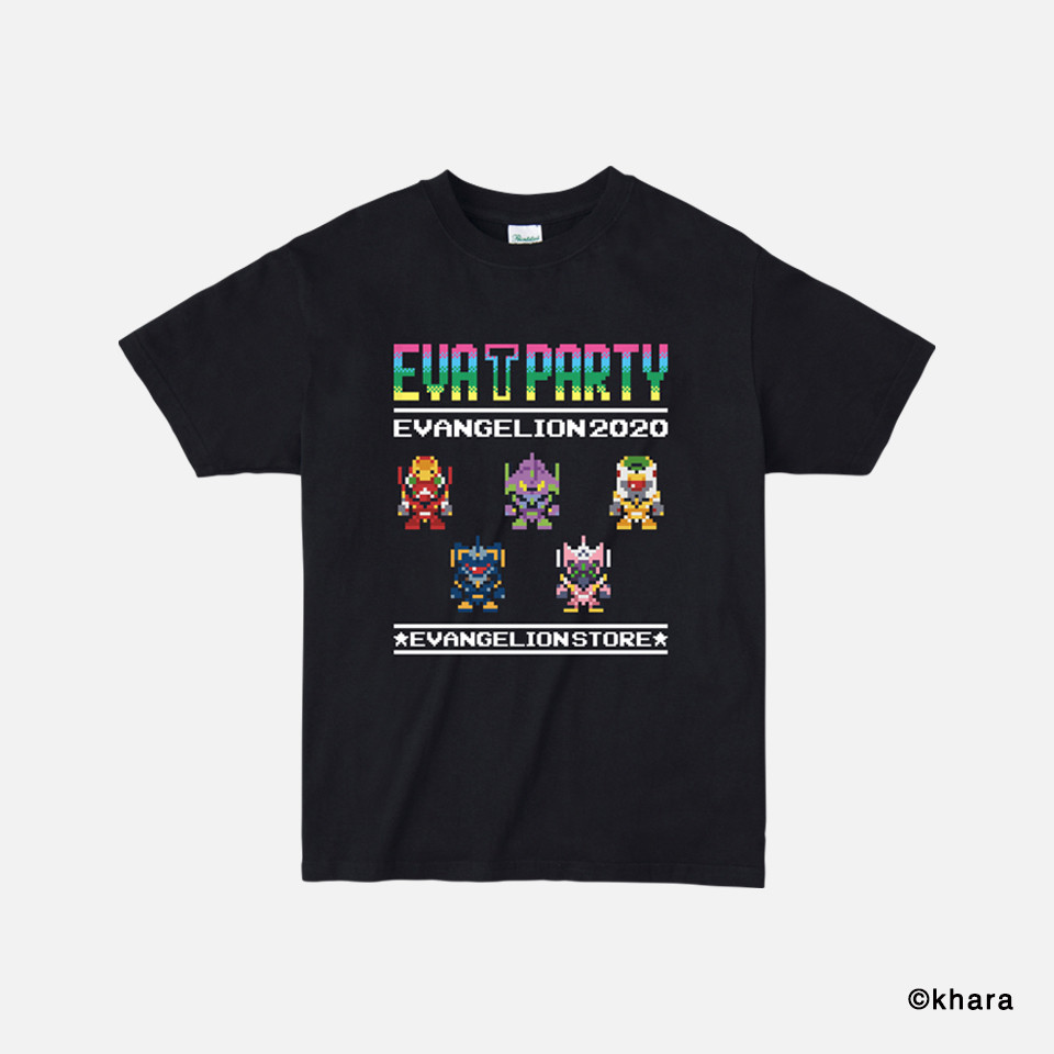 The EVA T PARTY 2020 & permission and +Ninja-kun collaboration item