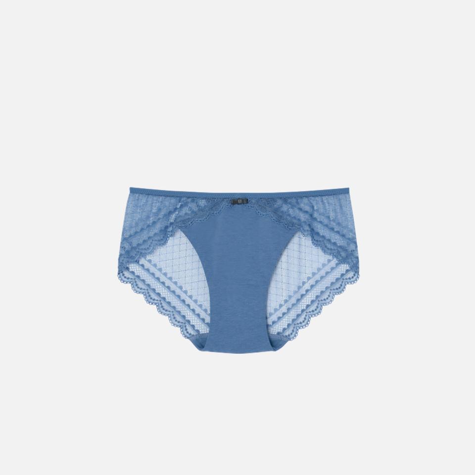 Bitter dot cotton 3/4 cup brassiere & shorts