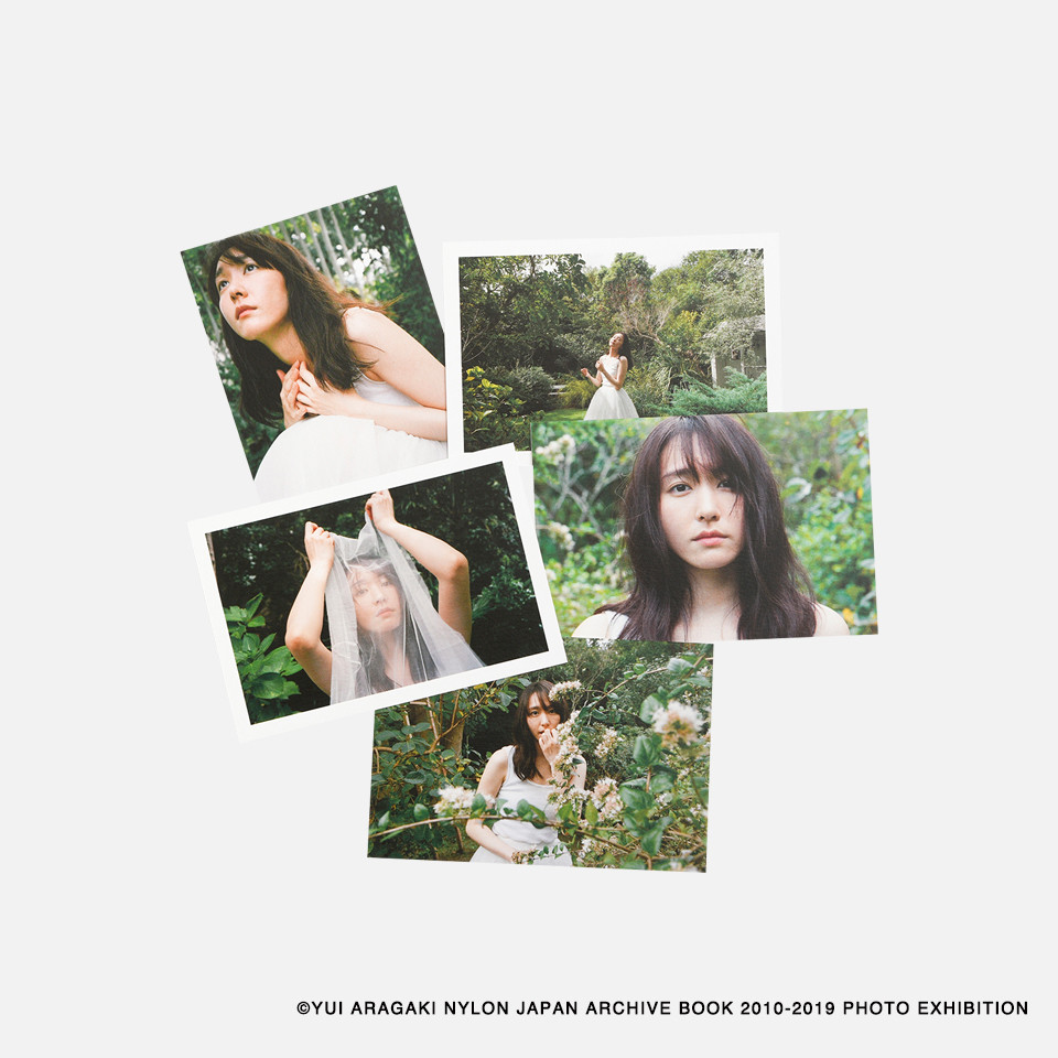 YUI ARAGAKI NYLON JAPAN ARCHIVE BOOK 2010-2019 PHOTO EXHIBITION OFFICIAL GOODS
