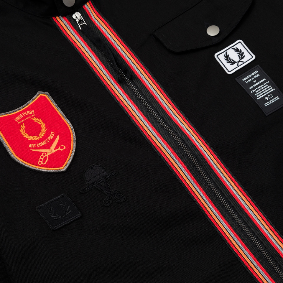 FRED PERRY × ART COMES FIRST COLLABORATE COLLECTION