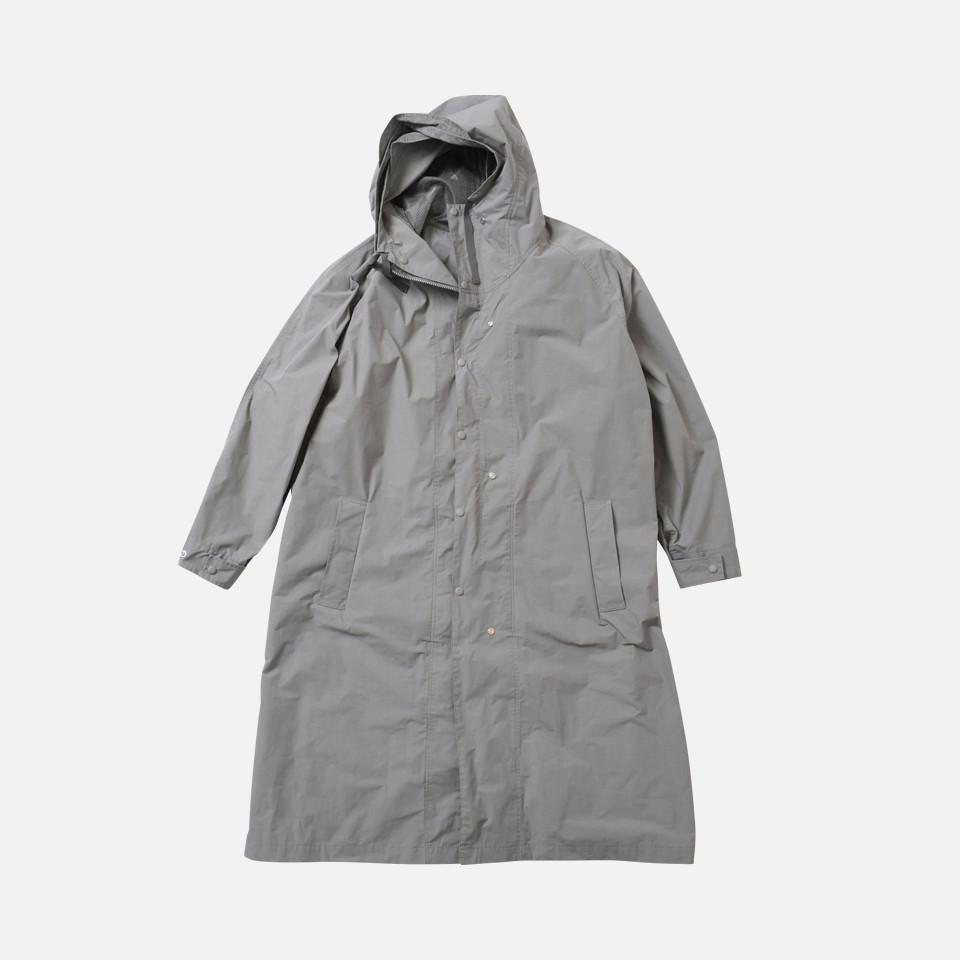polyester twill anorak raincoat