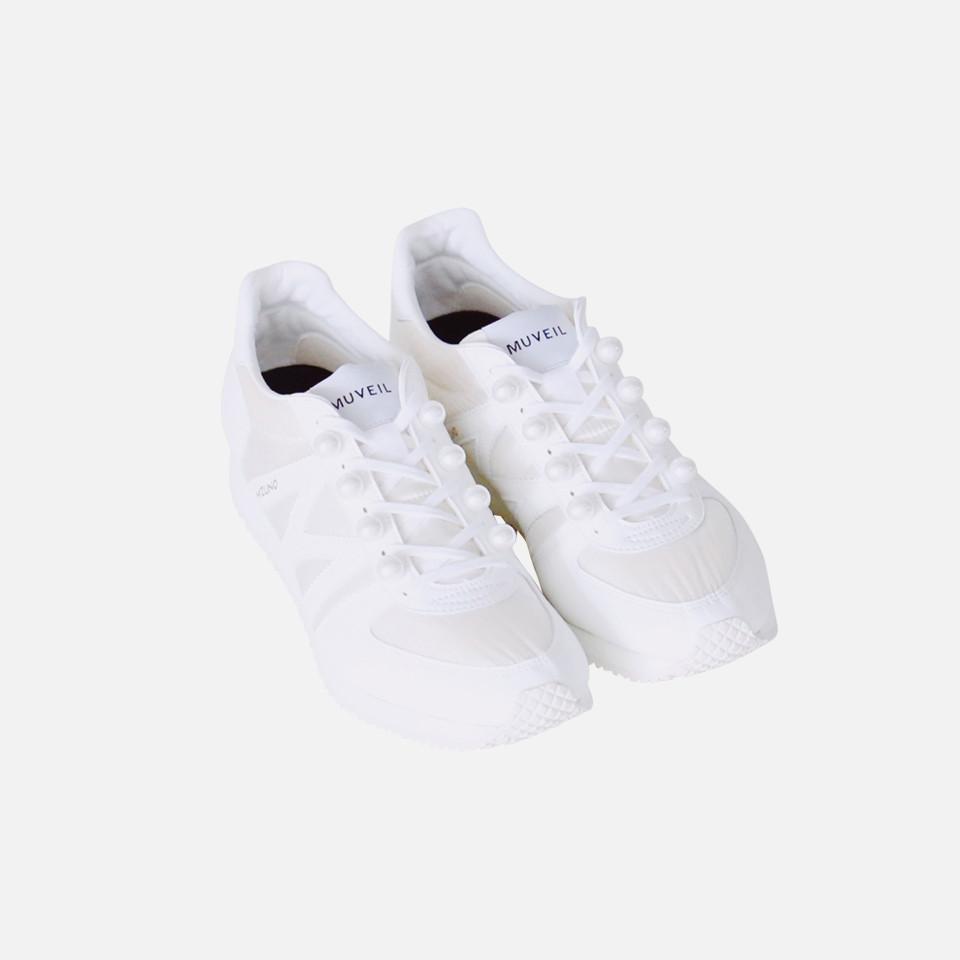<MUVEIL X Mizuno> Pearl sneakers