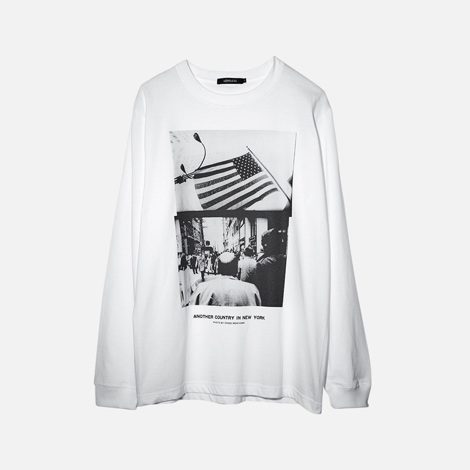 Daido Moriyama X LOVELESS Ron T & hoodie