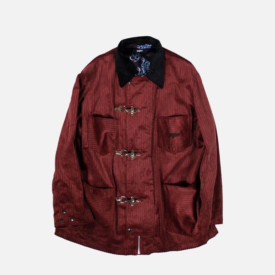 corduroy fireman coat