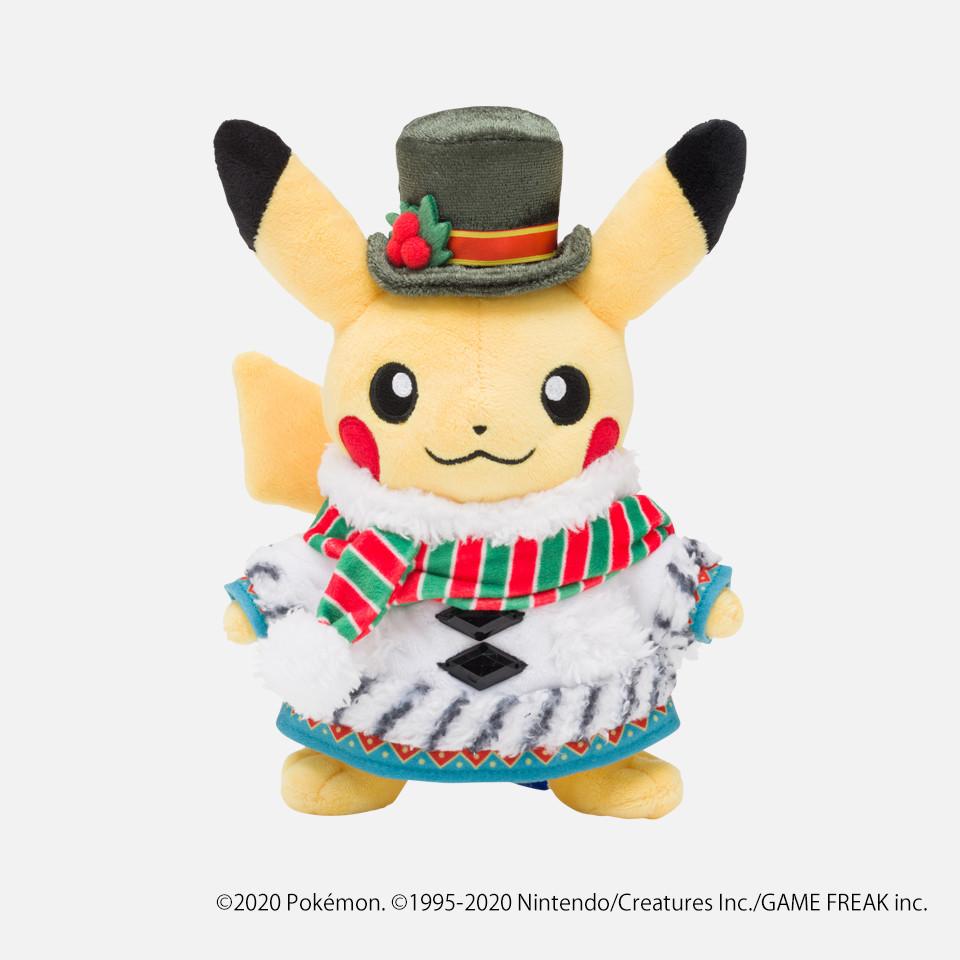 ぬいぐるみ Pokémon Christmas Wonderland ピカチュウ