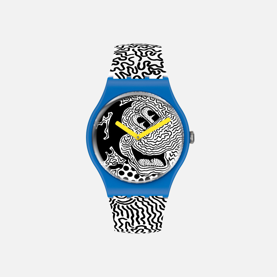 <SWATCH> Mickey Mouse x Keith passes; a lot of ring Collection items