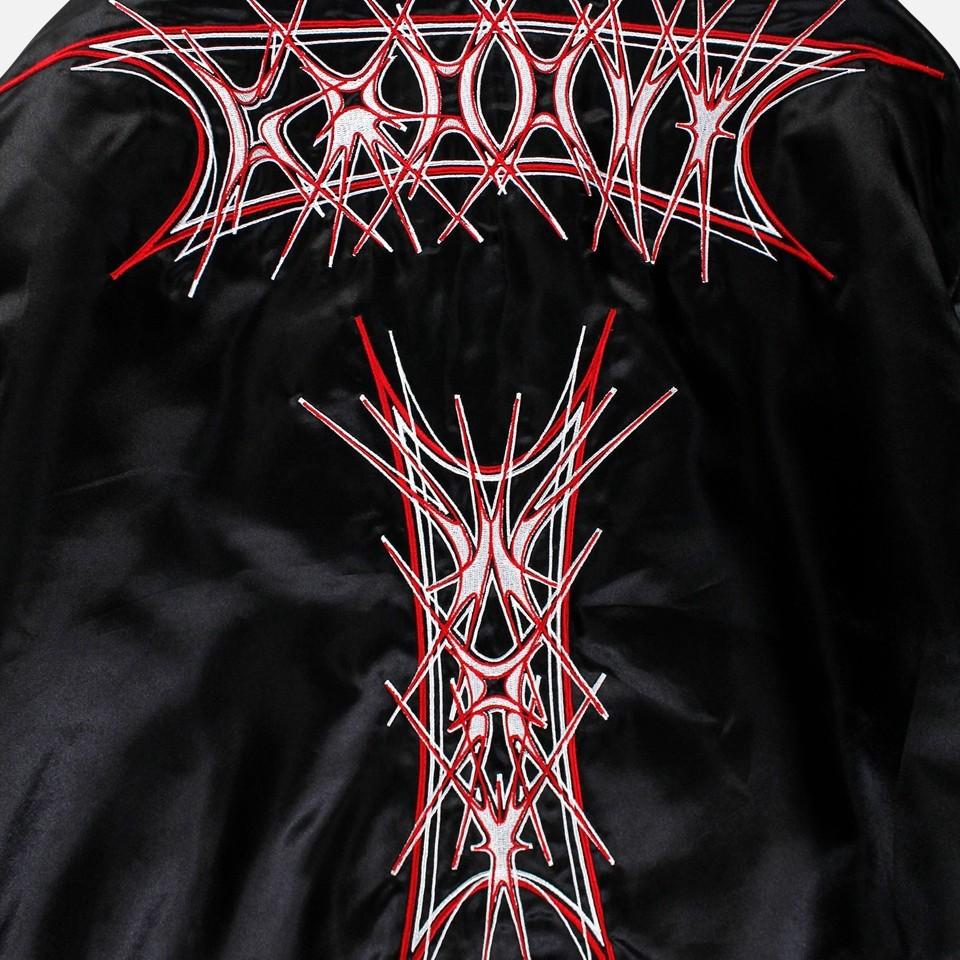 Oversize Embroidery Blouson