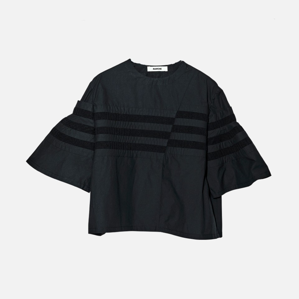 Knit Bonding Pullover Shirt