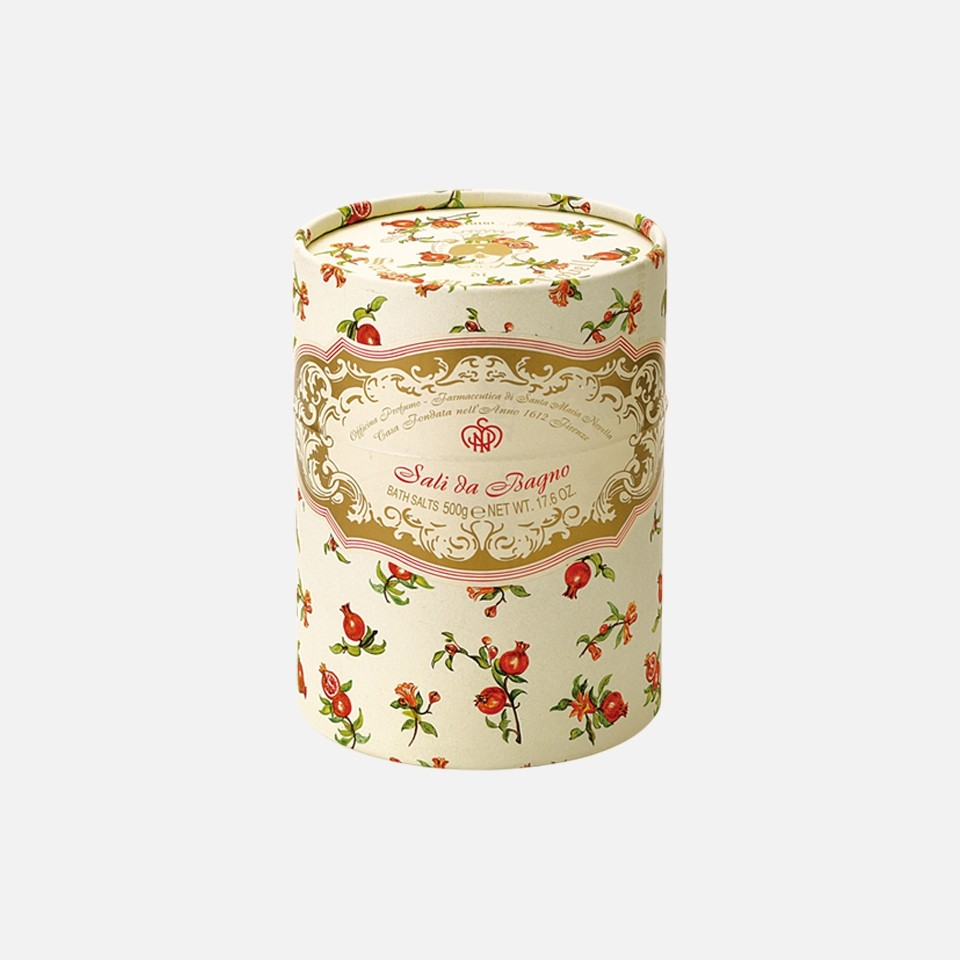 Bath salts pomegranate