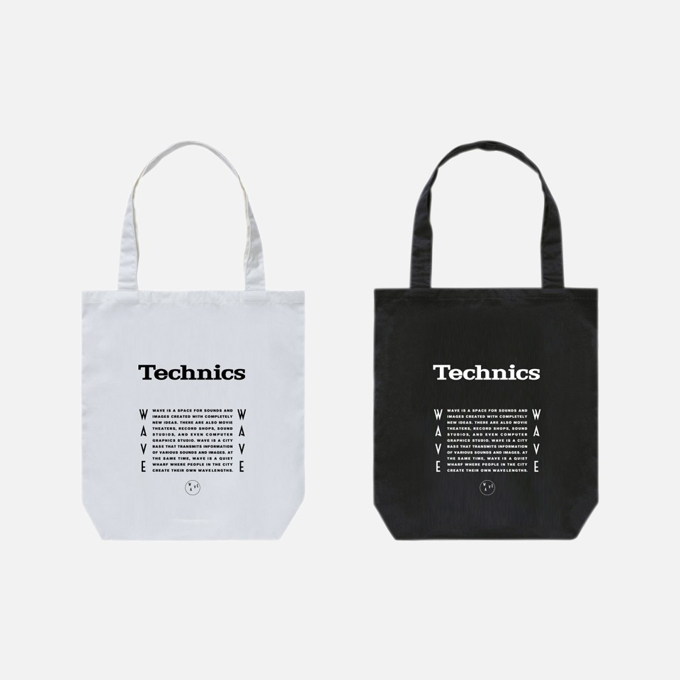 <WAVE × Technics>2nd collaborate collection