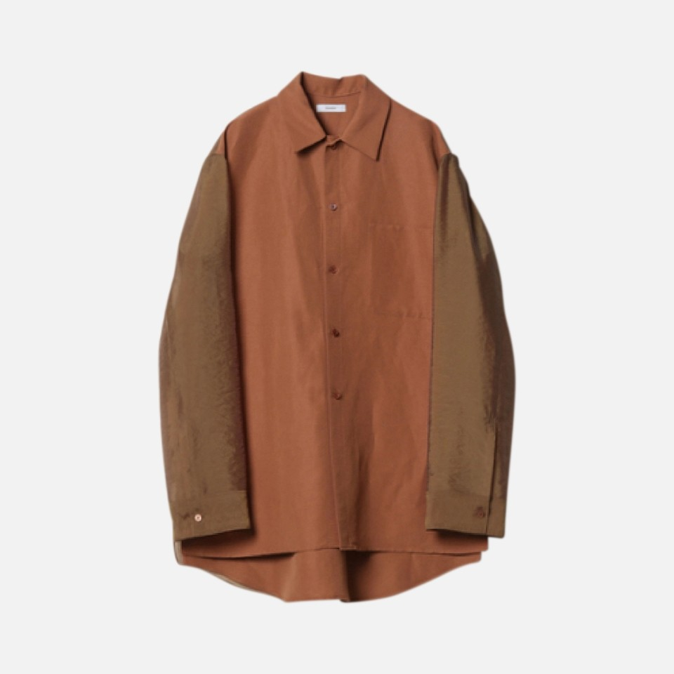 Rayon linen high count plane wave Longus Reeve shirt