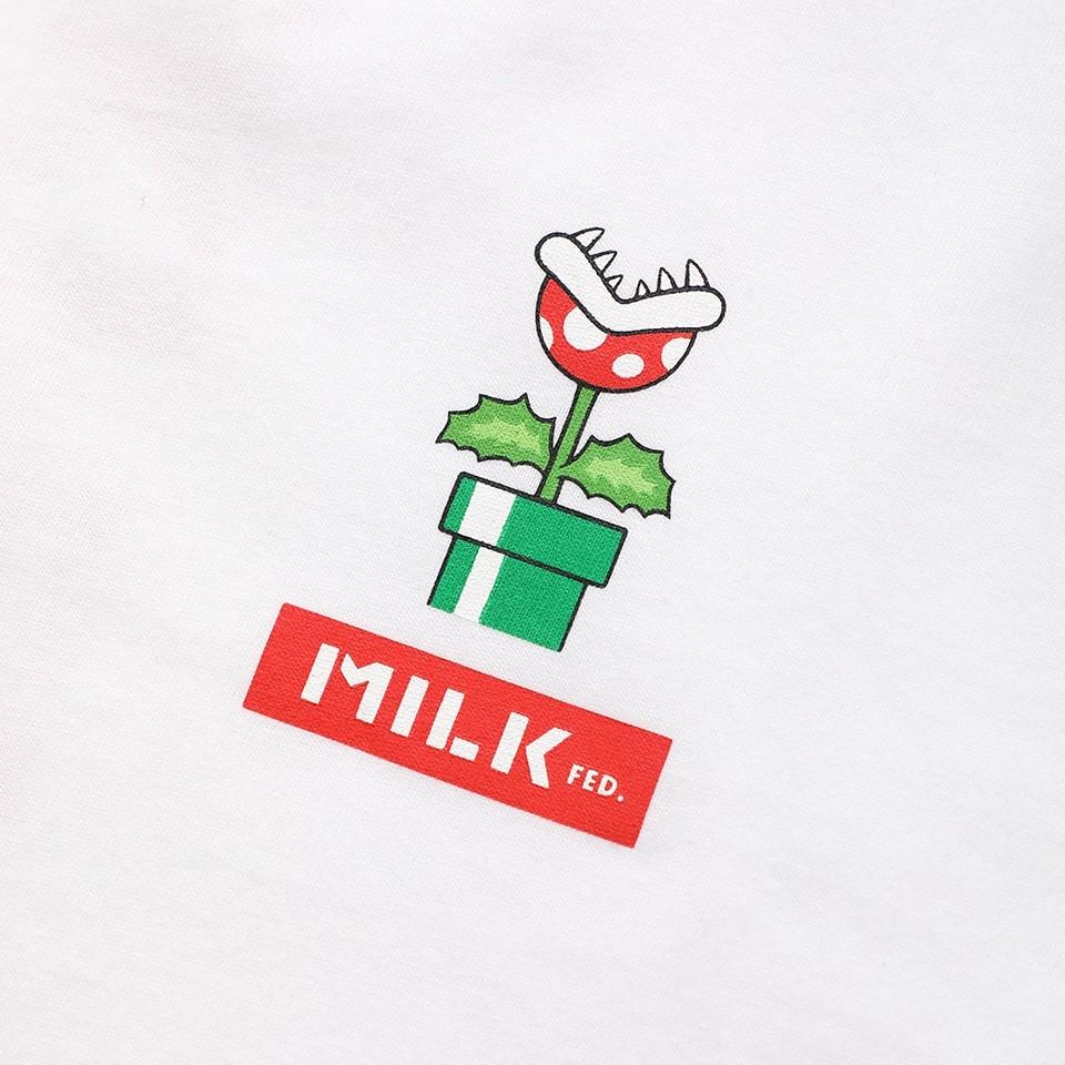 <MILKFED.> S/S TEE SUPER MARIO