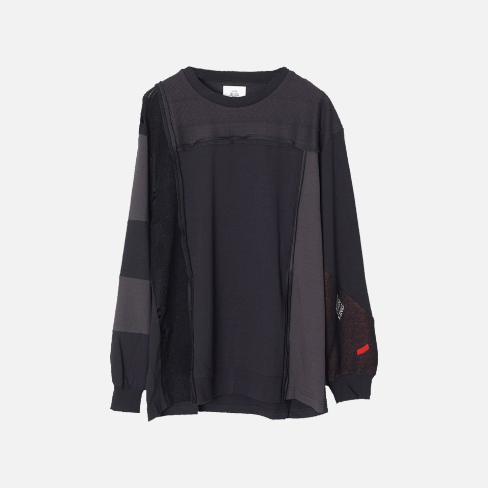 <STOF>Mad Patchwork L/S Tee