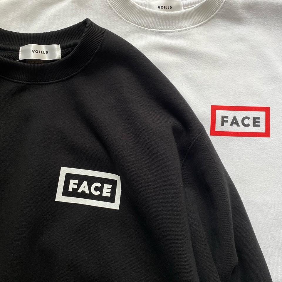 VOILLD × FACE スウェットシャツ