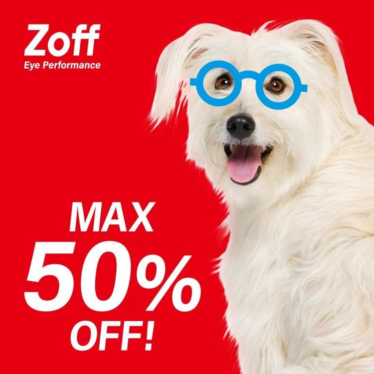 Zoff20周年・お客様還元セール「Z-off SALE」