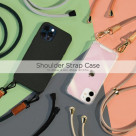 iPhone case with strap ☆Shoulder Strap Case