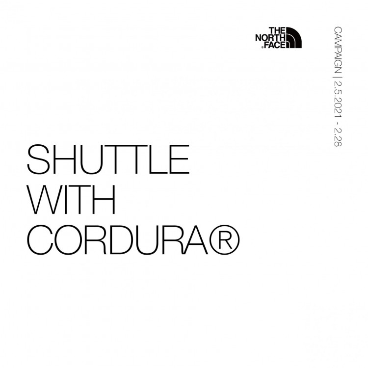 SHUTTLE WITH  CORDURA キャンペーン