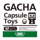 GACHA Capsule Toys corner appearance !(^^)!