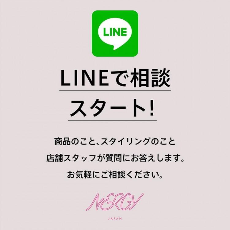 NERGY心斎橋パルコ店LINE接客スタートしました!