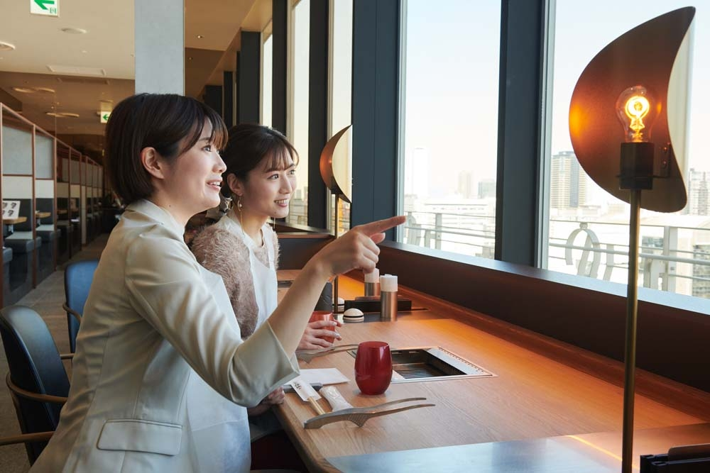Midosuji dining opens in 13F! We tried popular gourmet [latter part -2]