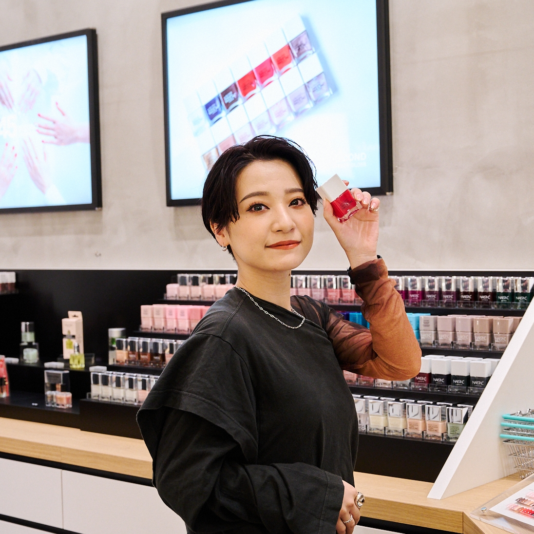 We go with staunch cosmetic rubber Hananashi! Cosmetic shop 7 store, this and that attempt spree! [the first part]