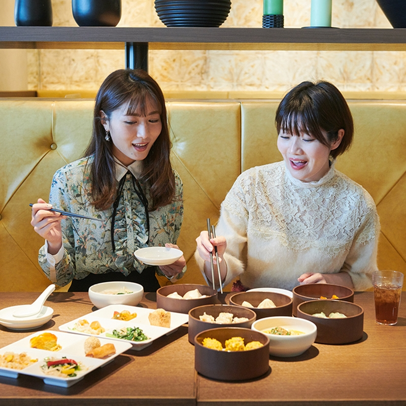 Midosuji dining opens in 13F! We tried popular gourmet [first part -1]